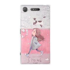 Phone Accessories Lux case SONY XPERIA XZ1 5 / TPU 3D Relief Painted Pattern Cover For Sony Xperia XZ1 Back Phone Cases