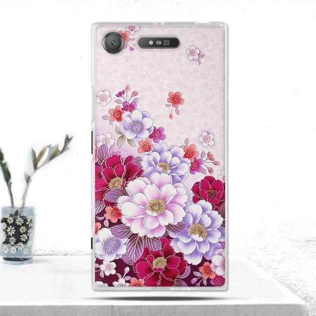 Phone Accessories Lux case SONY XPERIA XZ1 7 Cover Soft  Silicone Back Cover for Sony Xperia XZ1