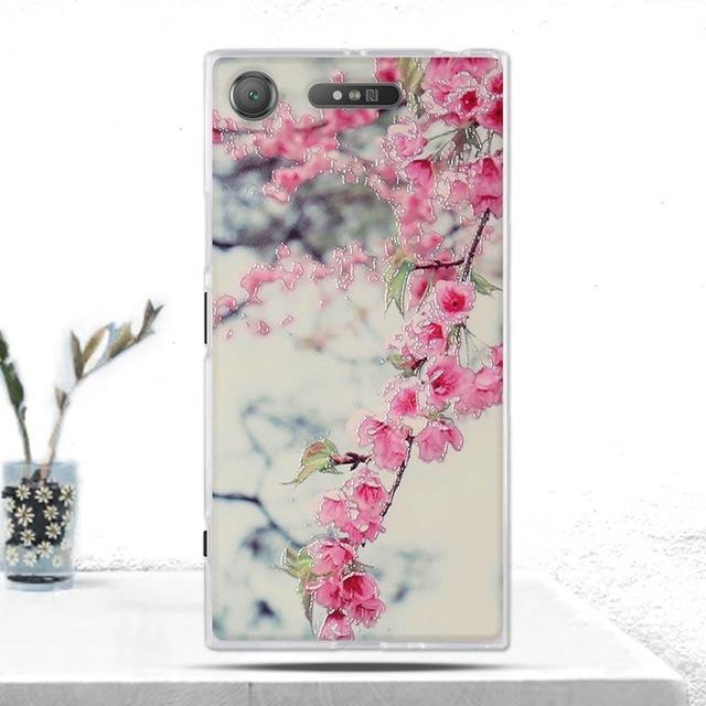 Phone Accessories Lux case SONY XPERIA XZ1 9 Cover Soft  Silicone Back Cover for Sony Xperia XZ1