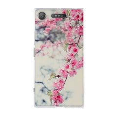 Phone Accessories Lux case SONY XPERIA XZ1 9 / TPU 3D Relief Painted Pattern Cover For Sony Xperia XZ1 Back Phone Cases