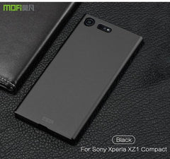 Phone Accessories Lux case SONY XPERIA XZ1 black / for XZ1 Compact Brand luxury 360 Full body cases Hard Frosted for Xperia XZ1 Compact 4.6''