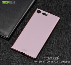 Phone Accessories Lux case SONY XPERIA XZ1 rose gold / for XZ1 Compact Brand luxury 360 Full body cases Hard Frosted for Xperia XZ1 Compact 4.6''