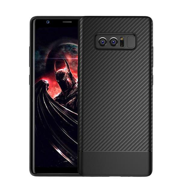 Phone Accessories Lux Galaxy Note 8 Black / TPU Luxury Carbon Fiber Ultra Thin Silicone Soft TPU Case for Samsung Galaxy Note 8