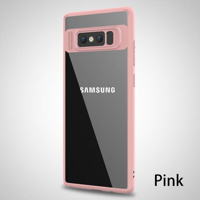 Phone Accessories Lux Galaxy Note 8 Pink For Samsung Galaxy Note 8 Case Silicone Transparen Back Cover