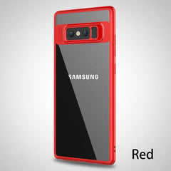 Phone Accessories Lux Galaxy Note 8 Red For Samsung Galaxy Note 8 Case Silicone Transparen Back Cover