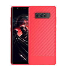 Phone Accessories Lux Galaxy Note 8 Red / TPU Luxury Carbon Fiber Ultra Thin Silicone Soft TPU Case for Samsung Galaxy Note 8
