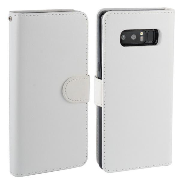 Phone Accessories Lux Galaxy Note 8 white / for Samsung Note 8 For Samsung Galaxy Note 8 Case Leather PU Card 2 in 1 Detachable Flip Cover ,Wallet Magnetic