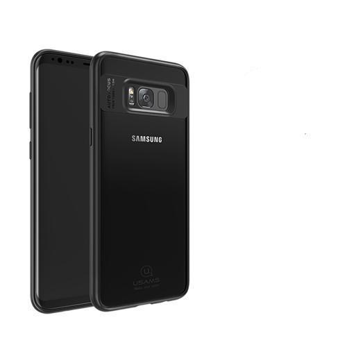 Phone Accessories Lux Galaxy s8 plus Black with typec usb / For Galaxy S8 ull Protective TPU & Acrylic Transparent Back Cover for Galaxy S8 Plus-S8