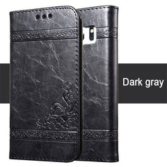 Phone Accessories Lux Galaxy s8 plus Dark Gray / S6 Luxury Wallet Leather Silicon Cases For Samsung  Galaxy S8,Galaxy S6 edge,Galaxy S8 Plus,Galaxy S7 Edge,Galaxy S7,Galaxy S6