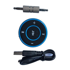 Phone Accessories Lux HANDS FREE KITS 3.5 Jack Aux Bluetooth Hands Free Bluetooth Car Handsfree Kit Wireless Bluetooth Aux Receiver A2DP Stereo Hands-free aux Adapter