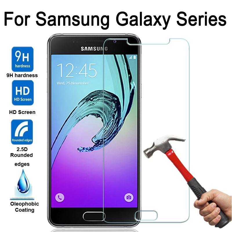 Phone Accessories Lux screen protection Galaxy a5 Tempered Glass Screen Protector For Samsung A5