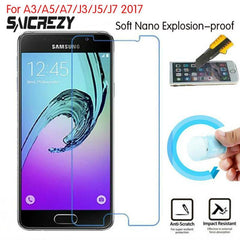 Phone Accessories Lux screen protection GALAXY J3 Protection Film Foil For Samsung Galaxy J3 -Screen Protector Not Tempered Glass