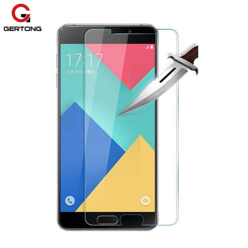 Phone Accessories Lux screen protection GALAXY J3 Screen Protector Film For Samsung Galaxy J5 J3 -Tempered Protective Glass