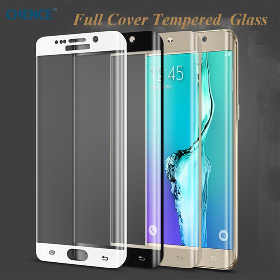 Phone Accessories Lux screen protector Galaxy s6 edge plus Tempered Film Screen Protector for Samsung Galaxy S6 Edge