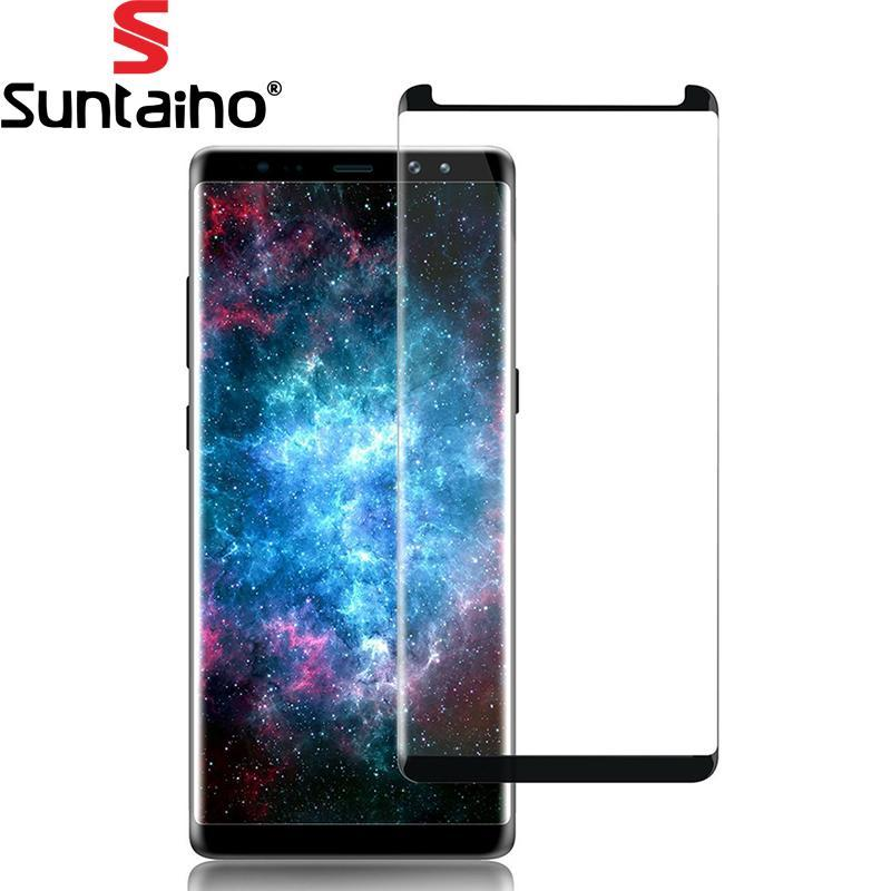 Phone Accessories Lux Screen Protectors Galaxy note 8 Tempered Glass 3D 9H Screen Protector Protective Film  For Samsung Note 8