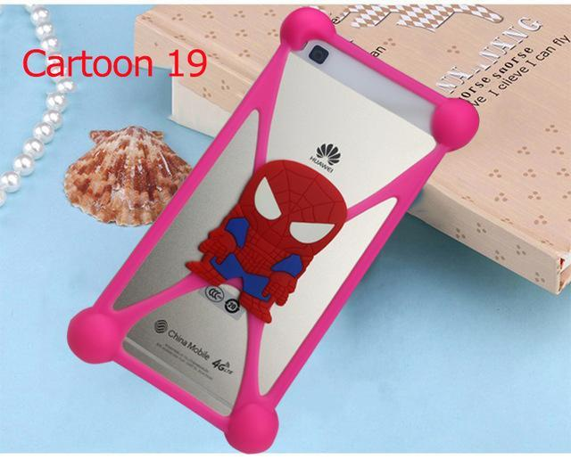 Phone Accessories Lux silicon case Sony xperia r1 plus 19 3D Silicon Cartoon Minnie Doraemon Soft Phone Case For Sony Xperia R1 Plus