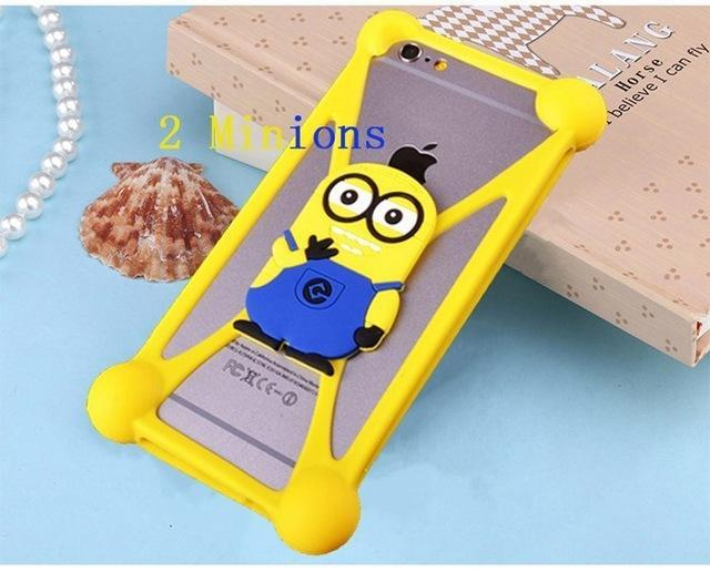 Phone Accessories Lux silicon case Sony xperia r1 plus 2 3D Silicon Cartoon Minnie Doraemon Soft Phone Case For Sony Xperia R1 Plus