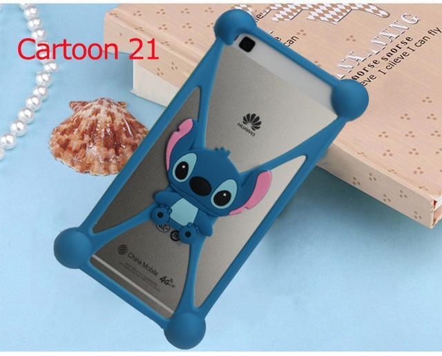 Phone Accessories Lux silicon case Sony xperia r1 plus 21 3D Silicon Cartoon Minnie Doraemon Soft Phone Case For Sony Xperia R1 Plus