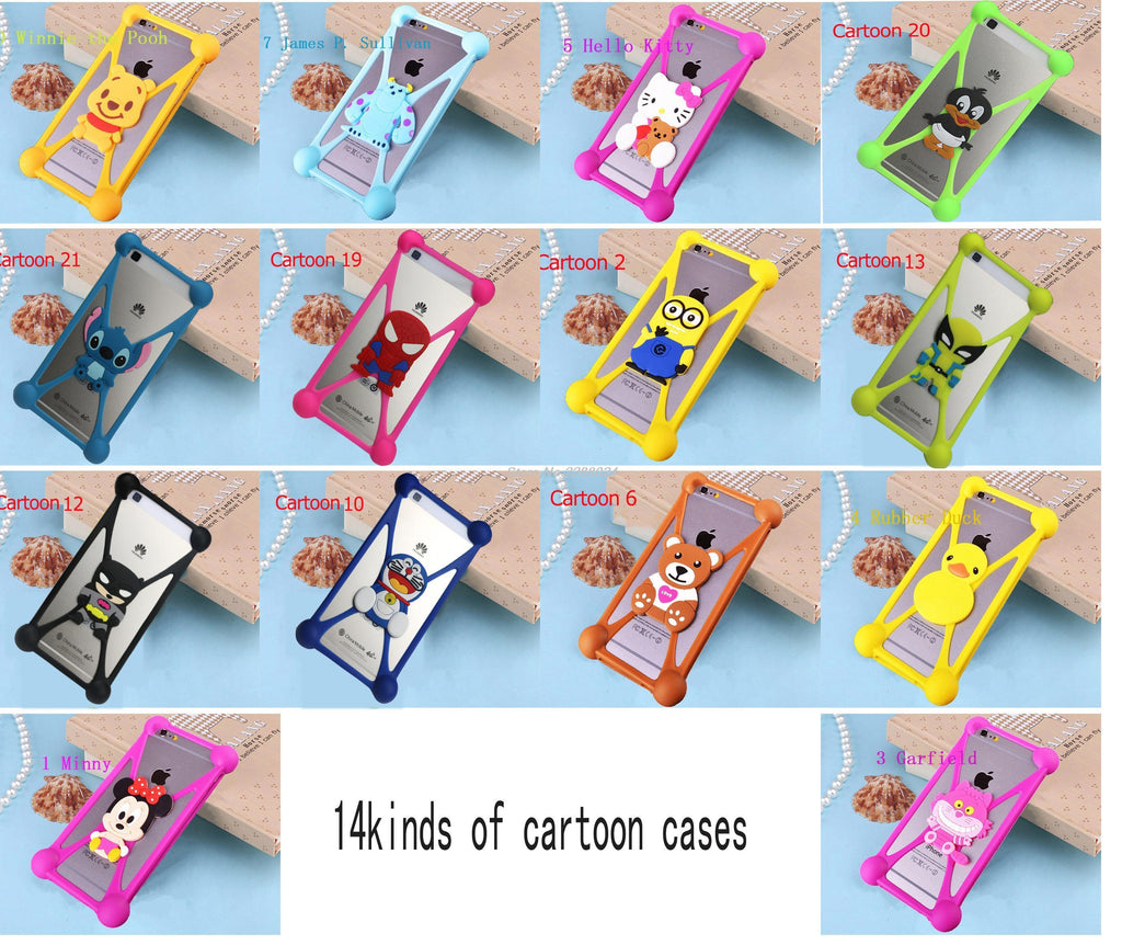 Phone Accessories Lux silicon case Sony xperia r1 plus 3D Silicon Cartoon Minnie Doraemon Soft Phone Case For Sony Xperia R1 Plus