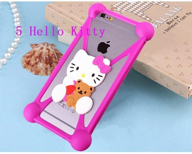 Phone Accessories Lux silicon case Sony xperia r1 plus 5 3D Silicon Cartoon Minnie Doraemon Soft Phone Case For Sony Xperia R1 Plus