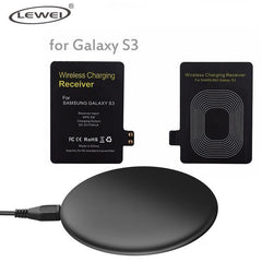 Phone Accessories Lux Wireless Chargers Black / For S3 set Qi Wireless Charger Pad For iPhone 8 8 Plus For Samsung Galaxy Note 4 3 S3 S4 S5 Wireless Charging Panel With Receiver Coil