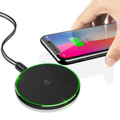 Phone Accessories Lux Wireless Chargers black Mcdodo Qi Wireless Charger for iPhone X 8 Plus Fast Wireless Charging for Samsung Galaxy S8 S7 Edge Note 8 Wireless Charger