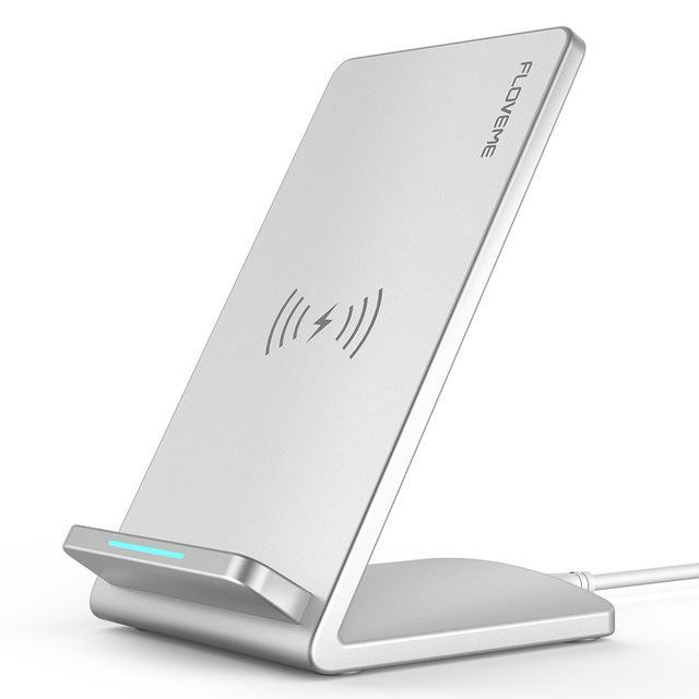 Phone Accessories Lux Wireless Chargers China / silver Fast Wireless Charger For Samsung Galaxy S8 S7 S6 Edge and For iPhone X 8 8 Plus