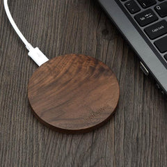 Phone Accessories Lux Wireless Chargers Default Title [Qi Wireless Charger 10W] KEYSION Wood fast Wireless Charger Charging Pad for Samsung Galaxy S8 S7 Note 8 for iPhone X 8 8Plus