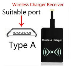 Phone Accessories Lux Wireless Chargers For Android  Type A Universal Qi Wireless Charger Charging Pad Mobile Phone Adapter Dock Station Wireless Charger for iPhone X 8 Plus Samsung S8