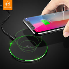 Phone Accessories Lux Wireless Chargers Mcdodo Qi Wireless Charger for iPhone X 8 Plus Fast Wireless Charging for Samsung Galaxy S8 S7 Edge Note 8 Wireless Charger