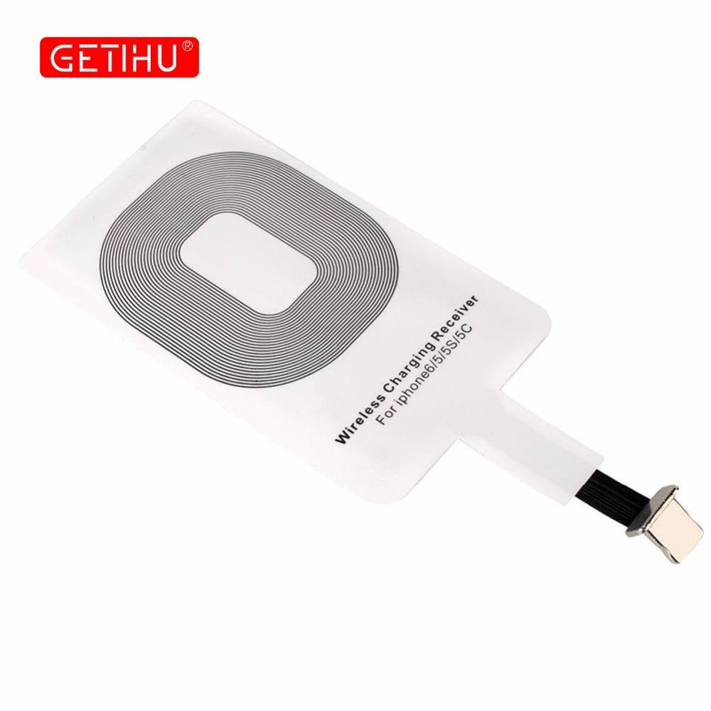 Phone Accessories Lux Wireless Chargers NEW Wireless Charger Ultra Thin Universal Qi Wireless Charger Receiver For iPhone 7 6 6s 5 5s Samsung  Xiaomi Huawei  HTC