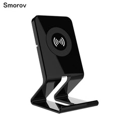 Phone Accessories Lux Wireless Chargers QI Standard Wireless Charger For Samsung S8 Plus S7 S6 Edge For iphone X 8 8 plus Stand Style Output Phone Charger Adapter