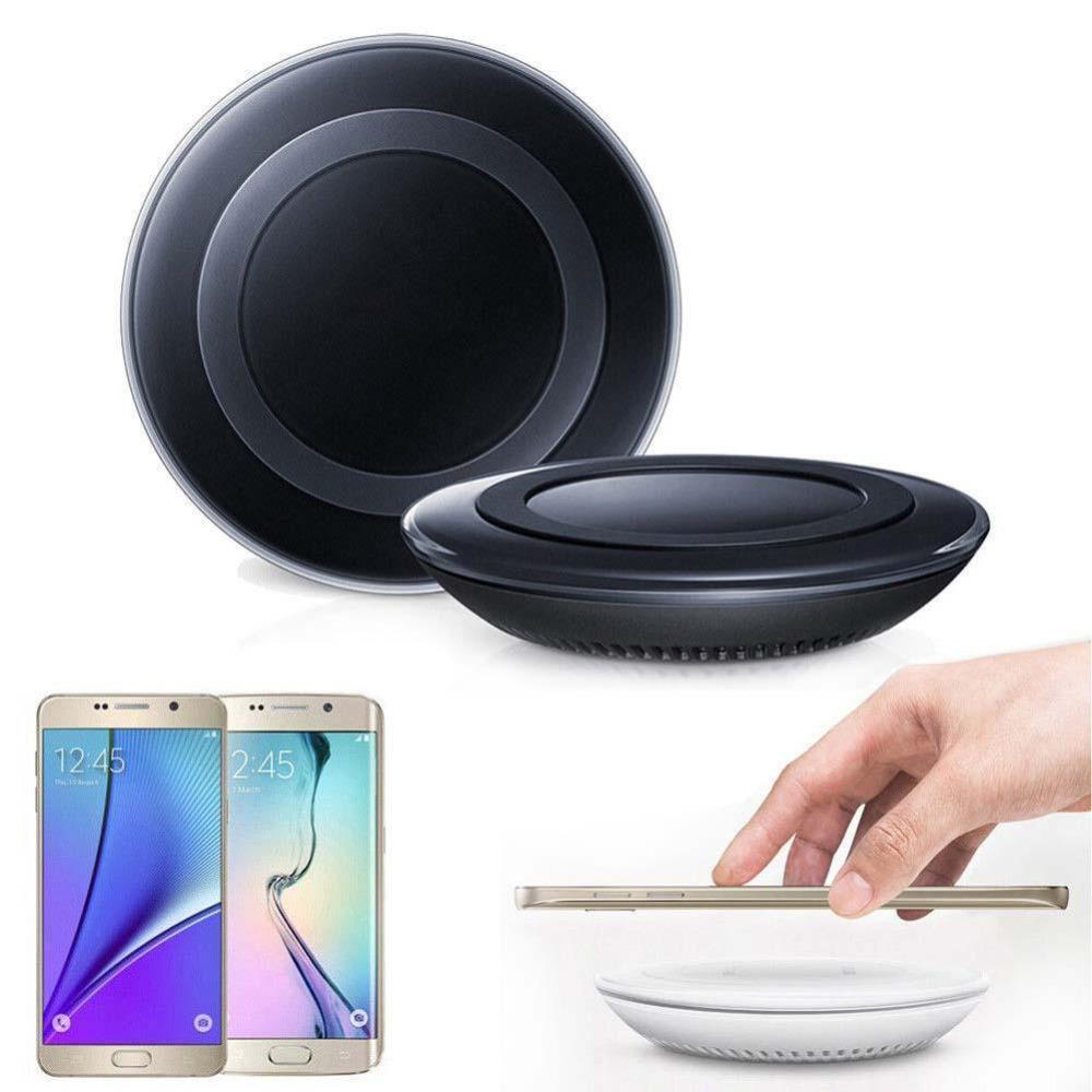 Phone Accessories Lux Wireless Chargers Qi Wireless Charger Charging Pad Original for SAMSUNG GALAXY S6 S6 Edge S6 Edge+ Plus S7 S7Edge Note5 Lumia 920/93 HTC 8X Black