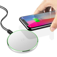 Phone Accessories Lux Wireless Chargers white Mcdodo Qi Wireless Charger for iPhone X 8 Plus Fast Wireless Charging for Samsung Galaxy S8 S7 Edge Note 8 Wireless Charger