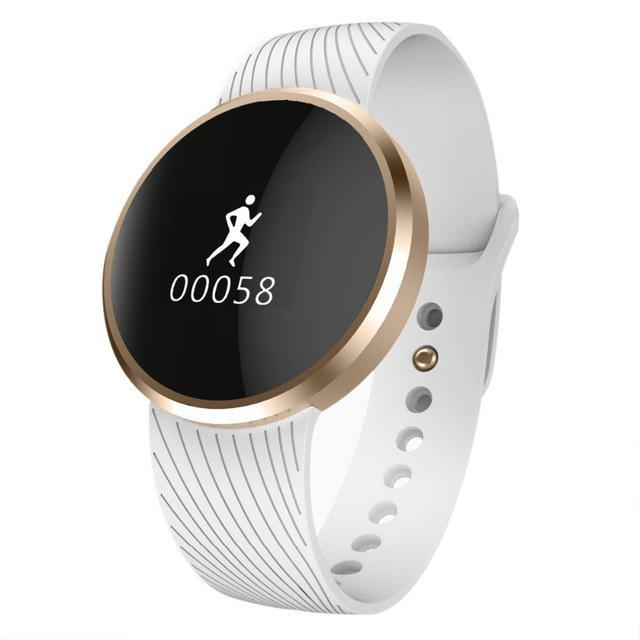 Phone Accessories Smartwatch White The new stylish L58 waterproof smart Bracelet health sleep monitoring calls to remind SPORTS BRACELET
