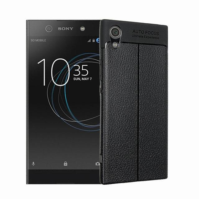 Phone Case and Accessories Black / XZ1 Compact Phone Case Ultra Thin TPU Silicone For Sony Xperia XZ Premium- XZ1 Compact