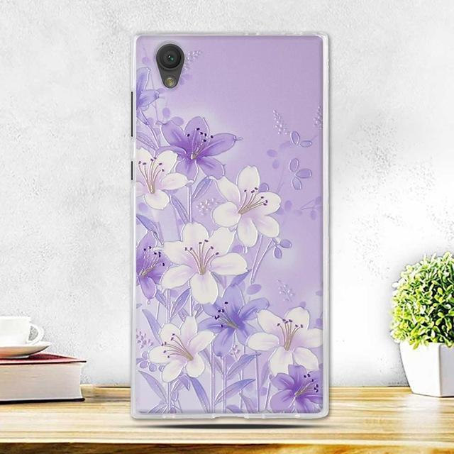Phone Case and Accessories case sony xperia l1 10 Fashion Painted 2017 Newest Ultra Soft Silicone Phone Case For Sony Experia L1