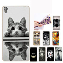Phone Case and Accessories case sony xperia l1 3D Cute Cartoon Cat Phone Cases For Sony Xperia L1 Dual