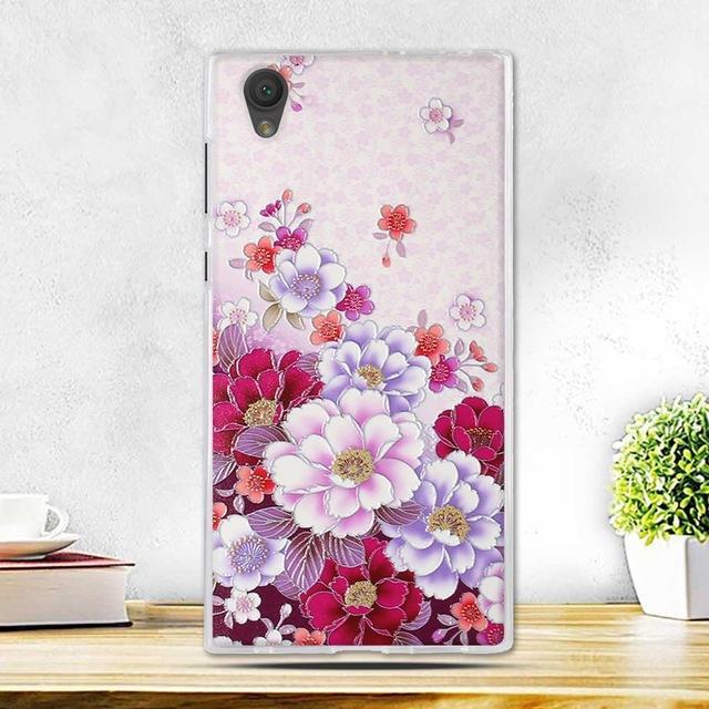 Phone Case and Accessories case sony xperia l1 7 Fashion Painted 2017 Newest Ultra Soft Silicone Phone Case For Sony Experia L1