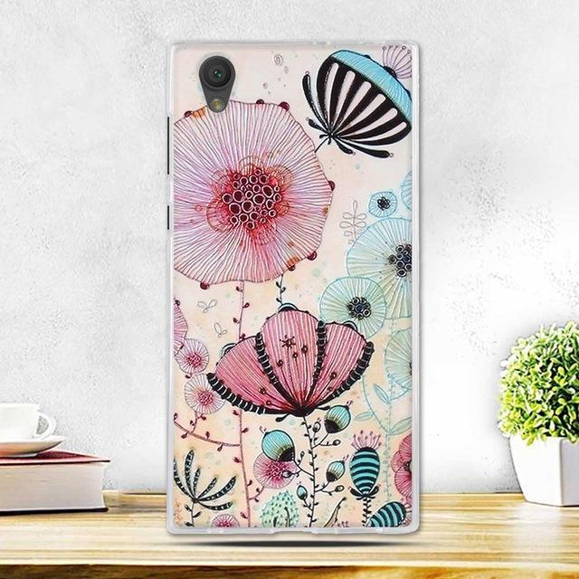 Phone Case and Accessories case sony xperia l1 8 Fashion Painted 2017 Newest Ultra Soft Silicone Phone Case For Sony Experia L1