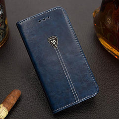 Phone Case and Accessories case sony xperia l1 Blue / Pu leather Wallet PU Leather Back Cover Phone Case For Sony Xperia L1