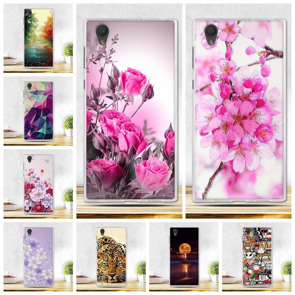 Phone Case and Accessories case sony xperia l1 Fashion Painted 2017 Newest Ultra Soft Silicone Phone Case For Sony Experia L1
