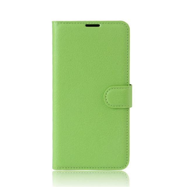 Phone Case and Accessories case sony xperia l1 Green / Leather Phone Case Wallet PU Leather  For Sony Xperia L1