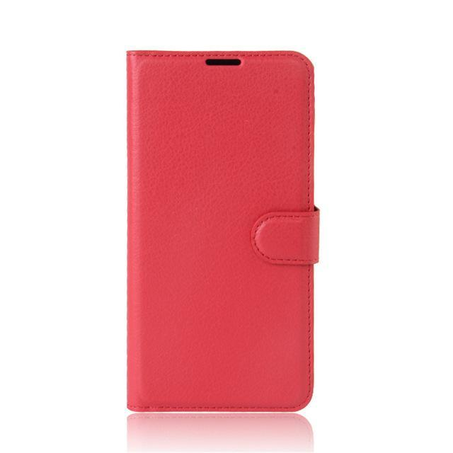 Phone Case and Accessories case sony xperia l1 Red / Leather Phone Case Wallet PU Leather  For Sony Xperia L1