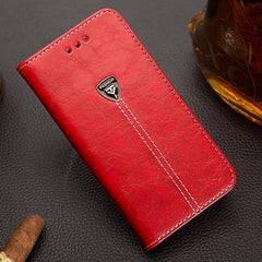 Phone Case and Accessories case sony xperia l1 Red / Pu leather Wallet PU Leather Back Cover Phone Case For Sony Xperia L1