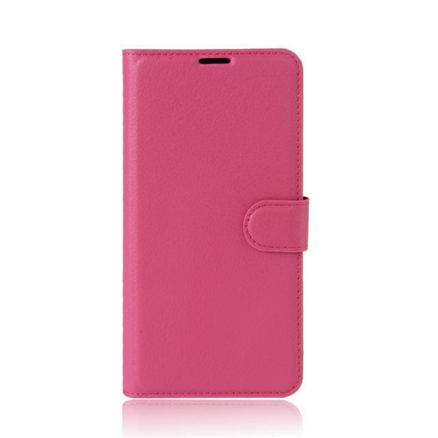 Phone Case and Accessories case sony xperia l1 Rose / Leather Phone Case Wallet PU Leather  For Sony Xperia L1