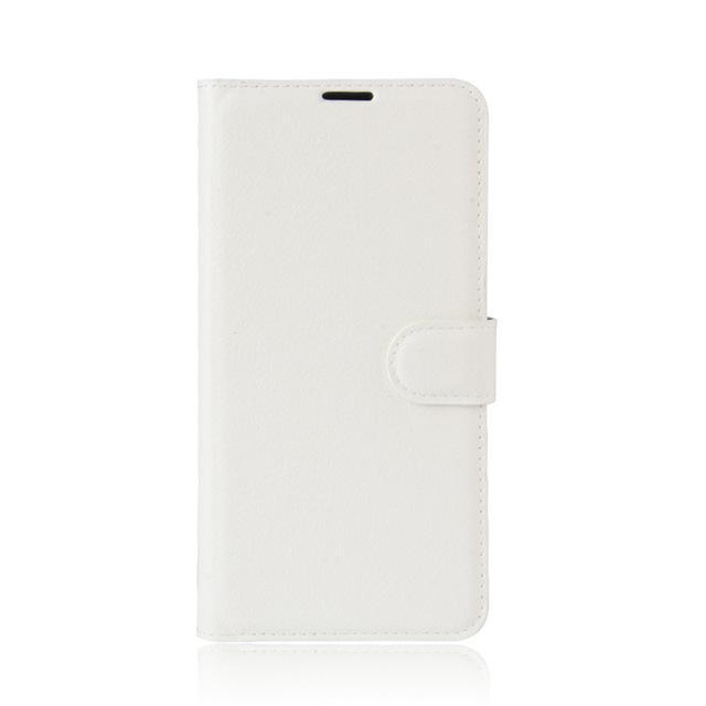 Phone Case and Accessories case sony xperia l1 White / Leather Phone Case Wallet PU Leather  For Sony Xperia L1