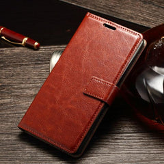 Phone Case and Accessories case sony xperia x compact Brown / For Sony Z3 Compact Phone Case For Sony Xperia x Compact -Mini Soft Leather Cover Wallet Housing