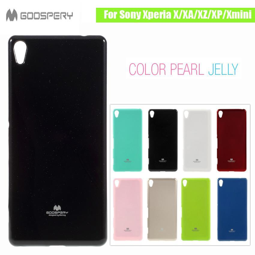 Phone Case and Accessories case sony xperia x compact Original Jelly Gel Soft TPU Black Phone Case For Sony Xperia X Compact