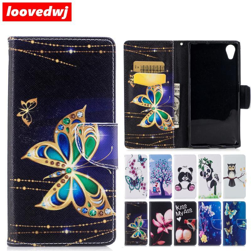 Phone Case and Accessories Case SONY XPERIA XA1 PLUS Case Flip Luxury Leather For SONY Xperia XA1 Plus-With Card Pocket